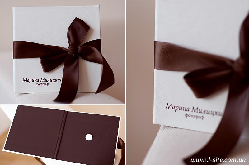 коробка для диска для свадебного фотографа
