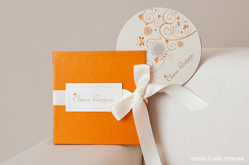 Коробка для диска для фотографа Елены Равиной