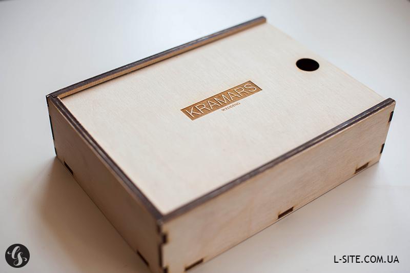 фанерный короб для флешки и фото фишек, оторых