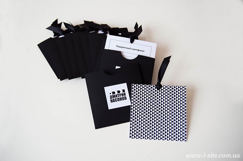 Фирменный стиль и упаковка для видеооператора Дмитрия Насонова