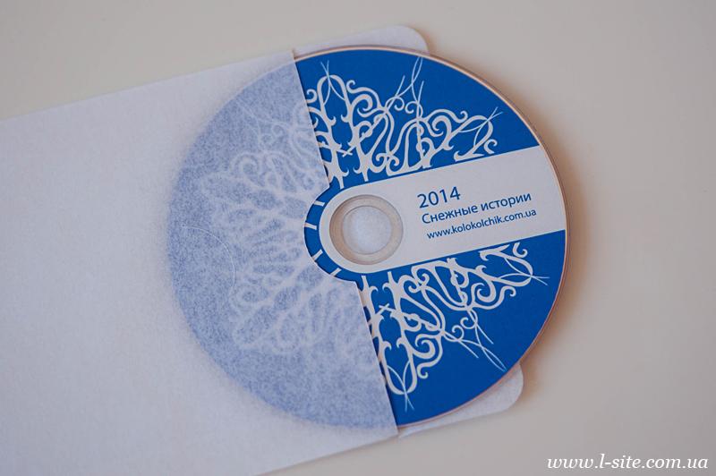 Как оформить диск с фото