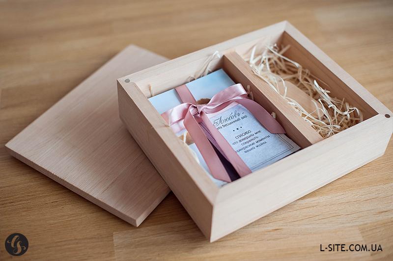 коробочки из дерева для фотографий